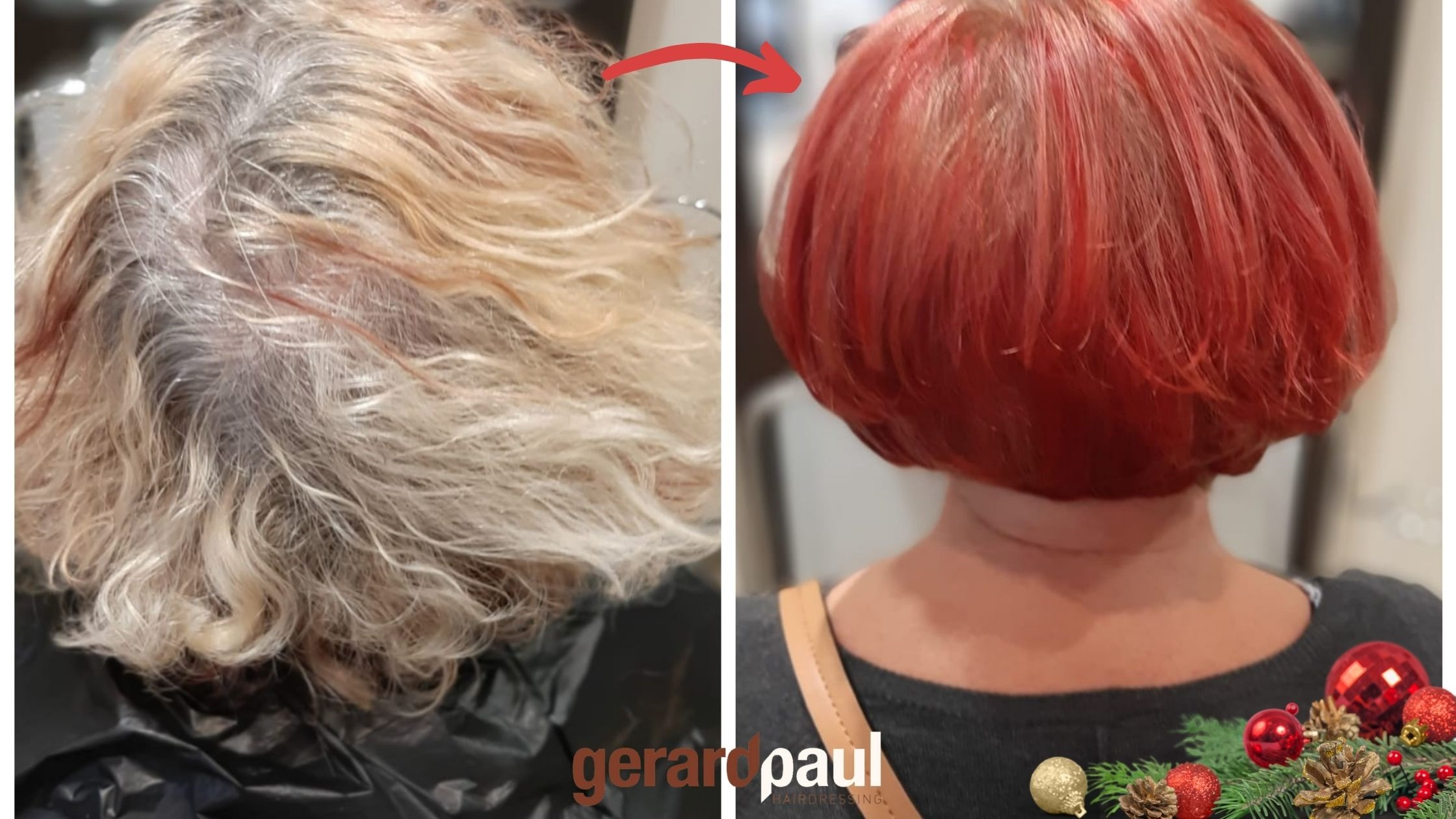 Gerard Paul Hair Dublin hair restyle