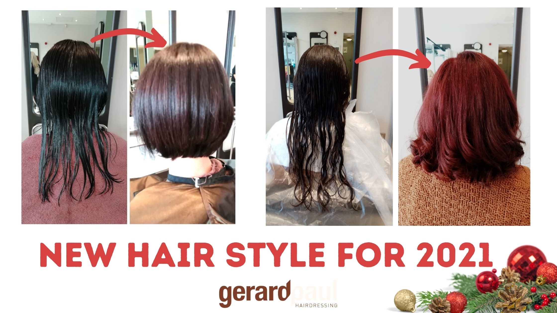 Gerard Paul Hairdressing salon Dublin and Naas